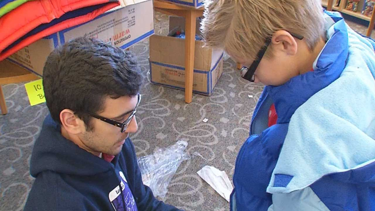 Big Donation Means Every Child At One OKC School Gets A Winter Coat