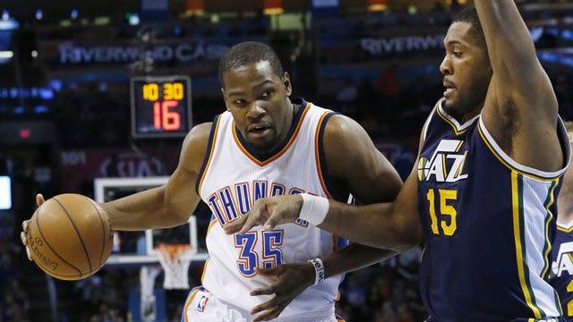 He's Back: Thunder's Durant To Return Against Jazz