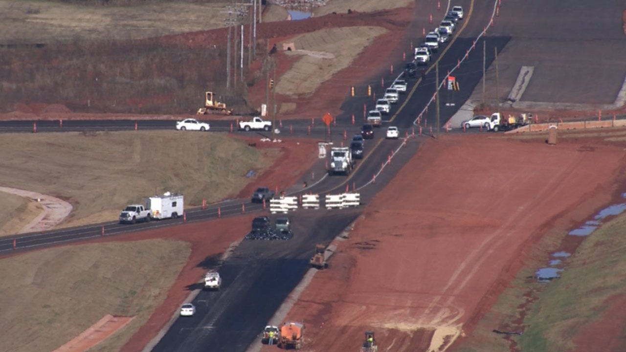 Major Lane Shifts On Portland In OKC Could Affect Your Drive Time