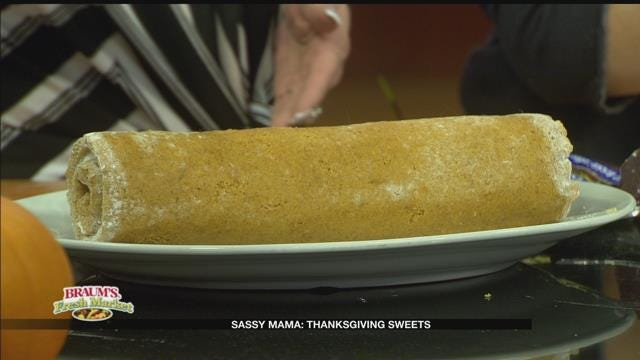 Whipped Toffee Pumpkin Roll