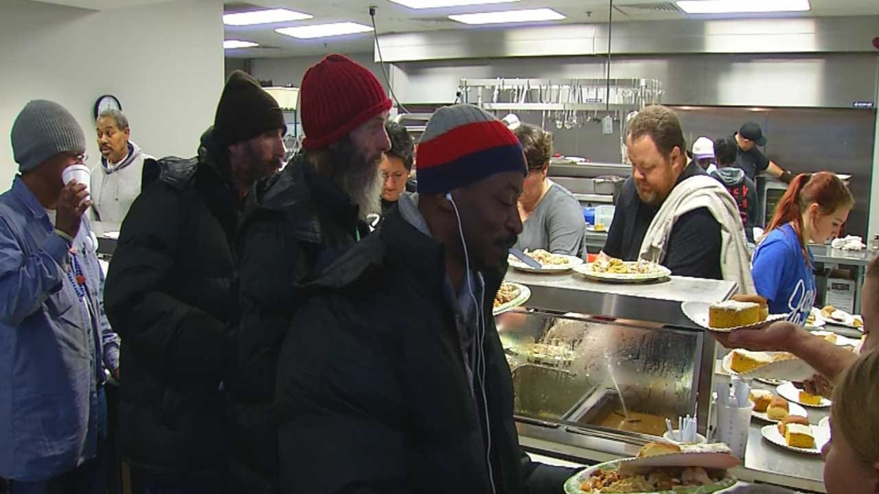 OKC Restaurants Join Together To Cook Thanksgiving Meal For The Homeless