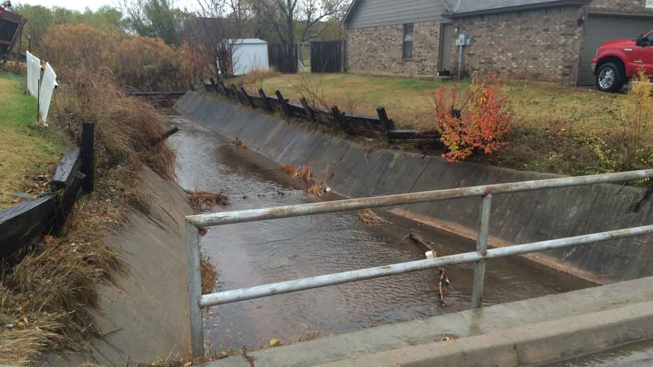Body Discovered In Drainage Canal Of SW OKC Neighborhood