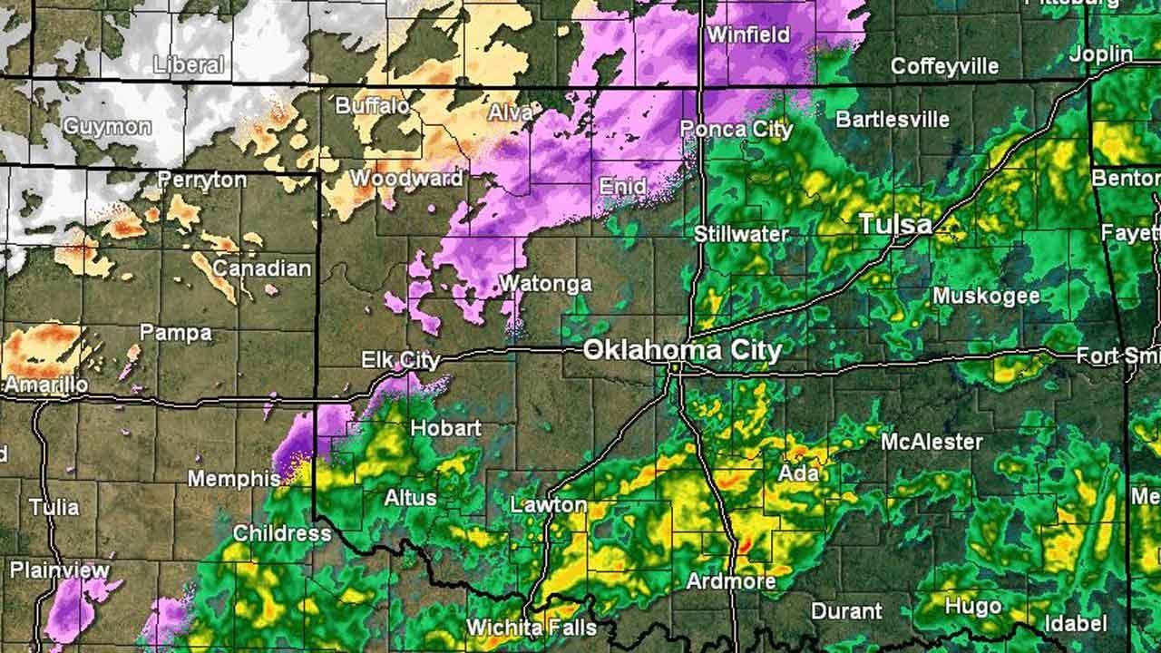 ODOT Travel Conditions Across Oklahoma