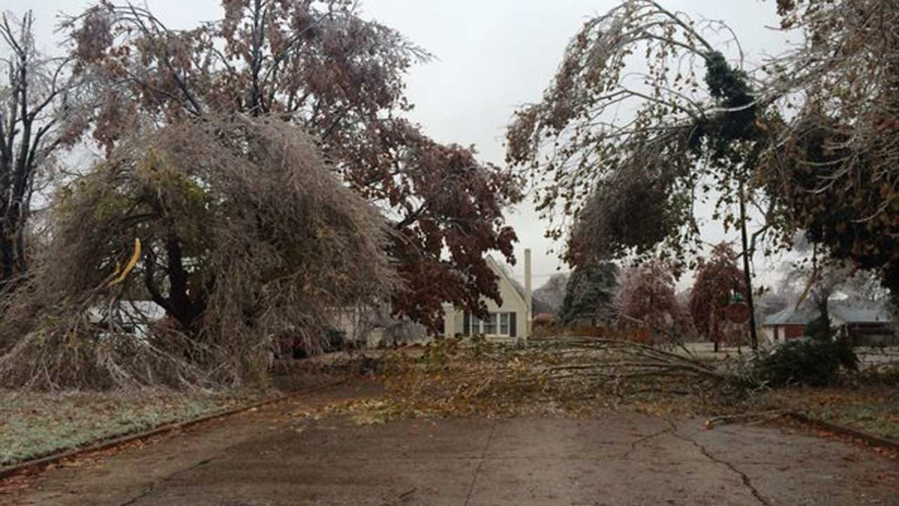 News 9 Viewers Share Icy Weather, Winter Storm Damage Photos
