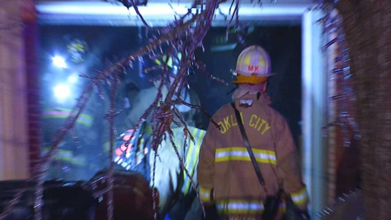 Crews Battle Overnight Fires In NW OKC