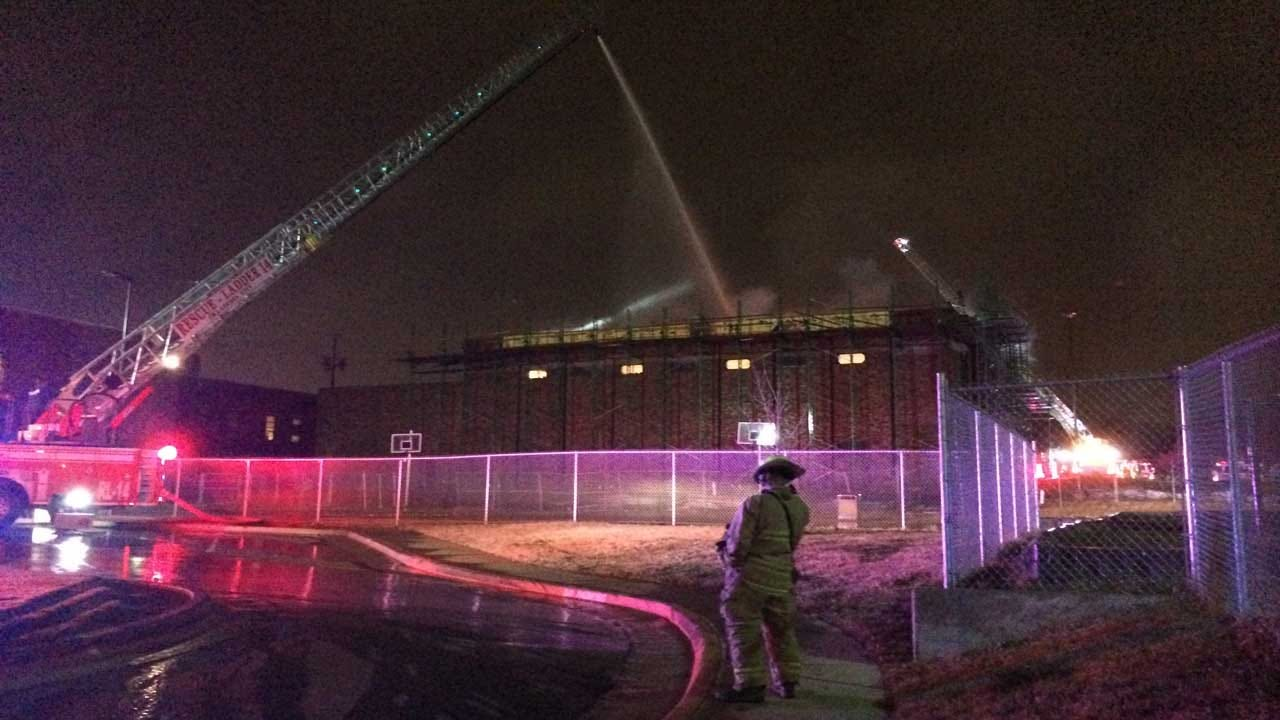 Fire Reported At Rockwood Elementary In OKC