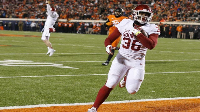 Runnin' Down A Dream: OU Plows Past OSU For Big 12 Title, Likely Playoff Berth