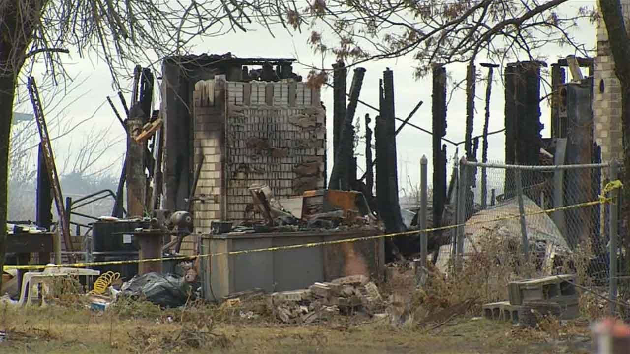Caddo County Community Still Searching For Answers After Deadly House Fire