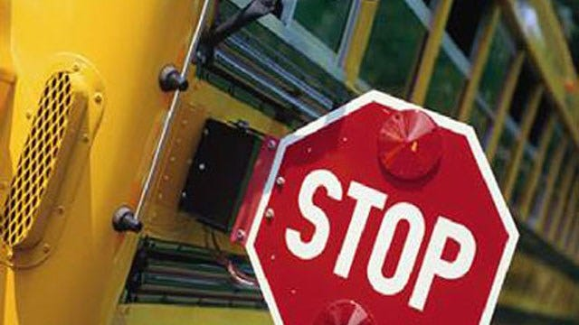 No One Injured After Cable Line Falls On Edmond School Bus