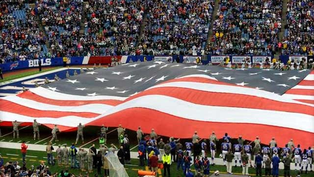 Defense Department Assailed For 'Paid Patriotism' In Pro Sports