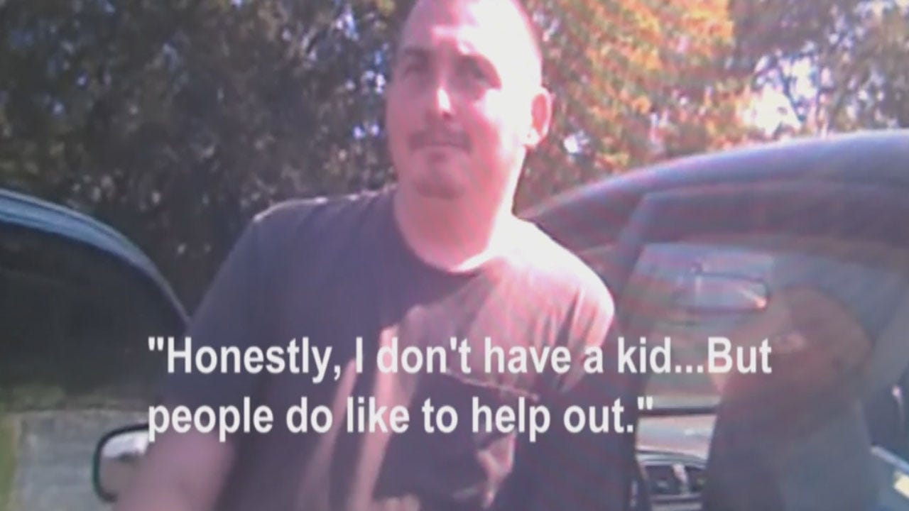 Panhandler Caught On Camera Admitting Scam