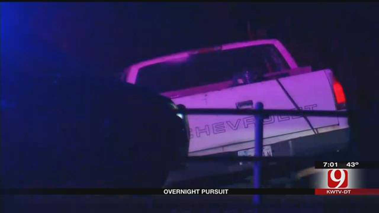 OKC Burglary Suspect Arrested Following Police Chase