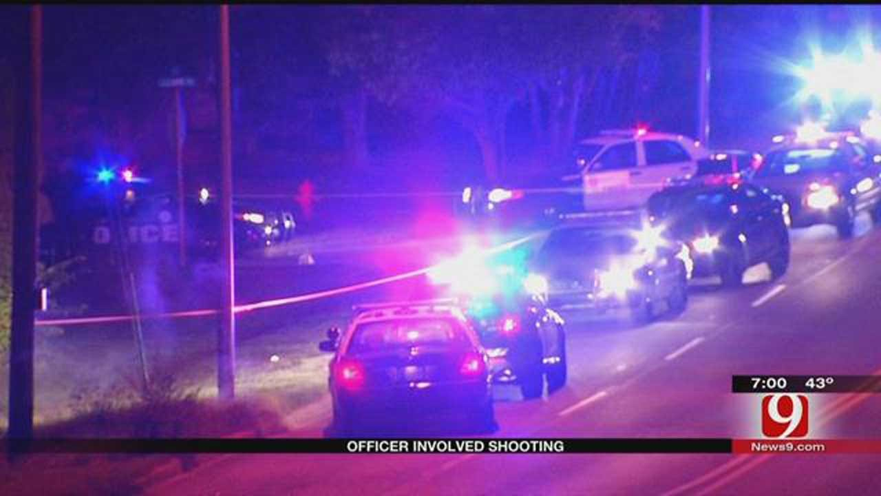 Traffic Stop Leads To Officer-Involved Shooting In NE OKC