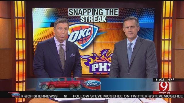 Oklahoma Ford Sports Blitz: November 8