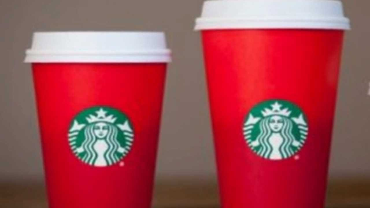 Starbucks Accused Of 'War On Christmas' With Holiday Cups