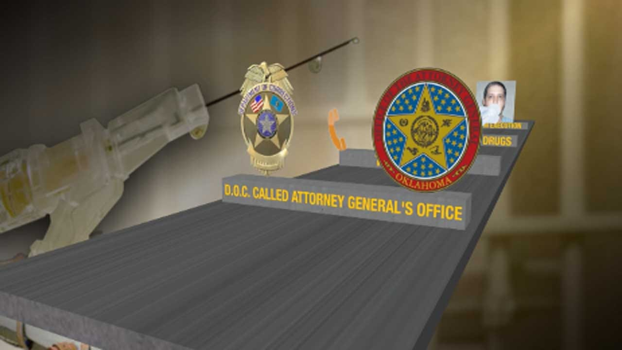 State Leaders Explain Timeline Of Events Leading To Glossip's Stay Of Execution