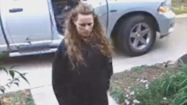 Caught On Camera: Woman Steals Packages In Broad Daylight
