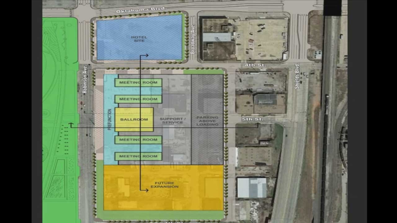 OKC Selects New Location For MAPS 3 Convention Center