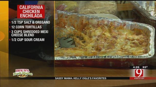 California Chicken Enchiladas