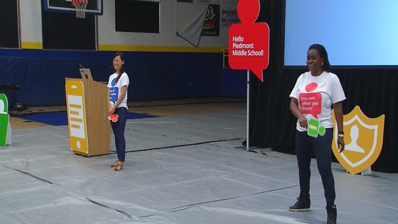 Google, Sen. Lankford Help Piedmont Students Learn Online Safety