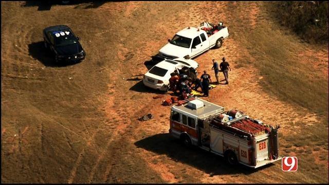 Crews Respond To Car Crash Near I-40, I-240 Interchange