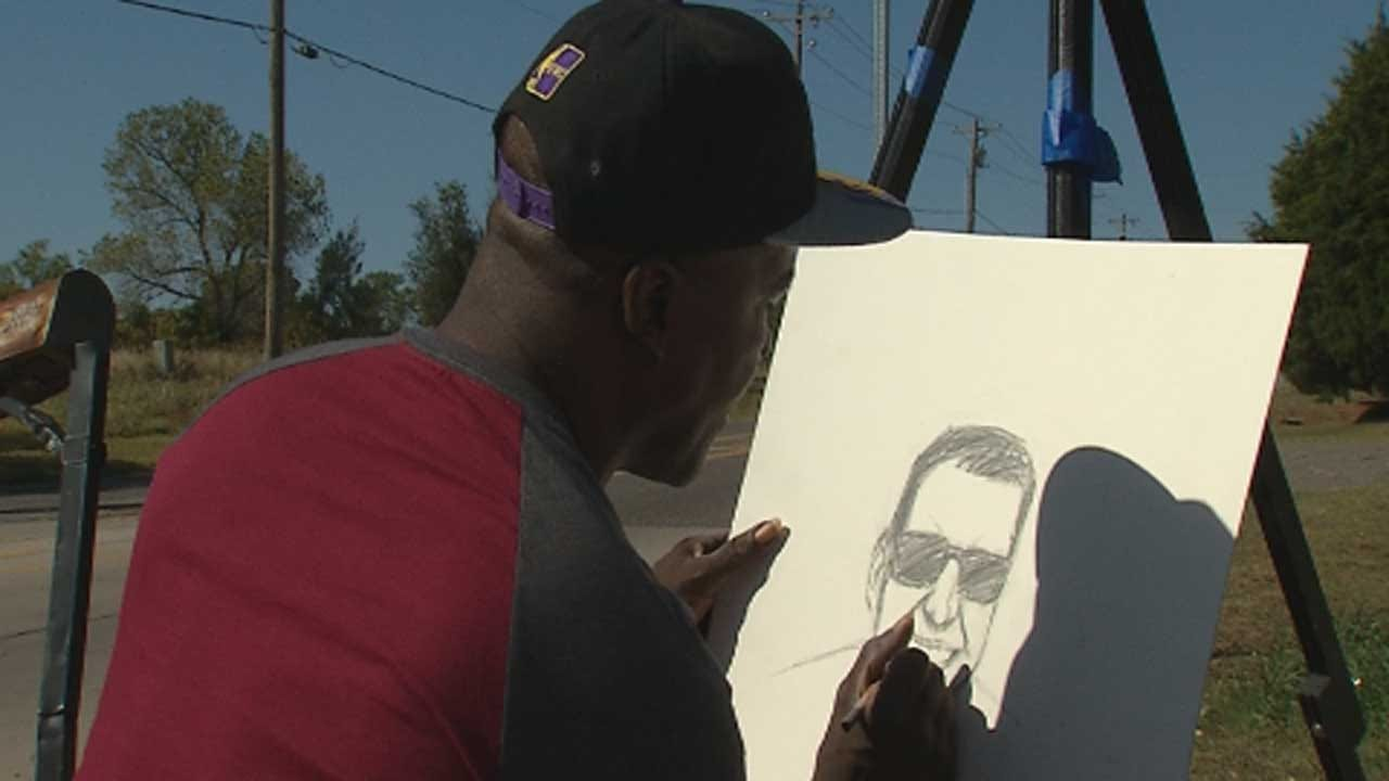 Red Dirt Diaries: Spencer Residents Come Together To Help Local Artist