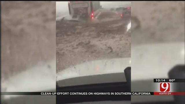 Clean Up Efforts Continue After Mudslide In Southern California