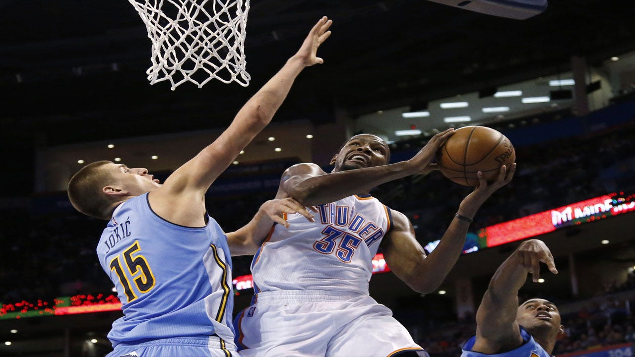 Durant And Westbrook Shine In Preseason Win Over Nuggets