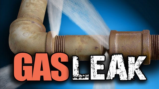 Crews Cap Gas Leak In NW OKC