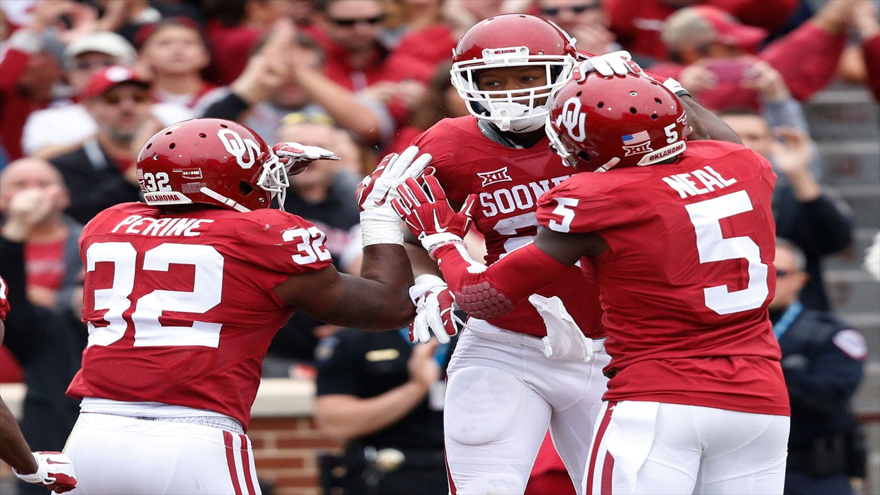 Perine, Mixon Lead Sooners To Victory Over Texas Tech