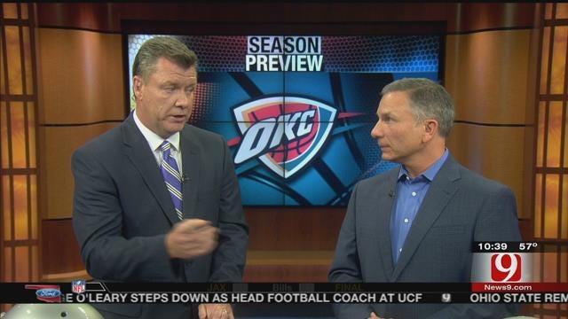 Oklahoma Ford Sports Blitz: October 25