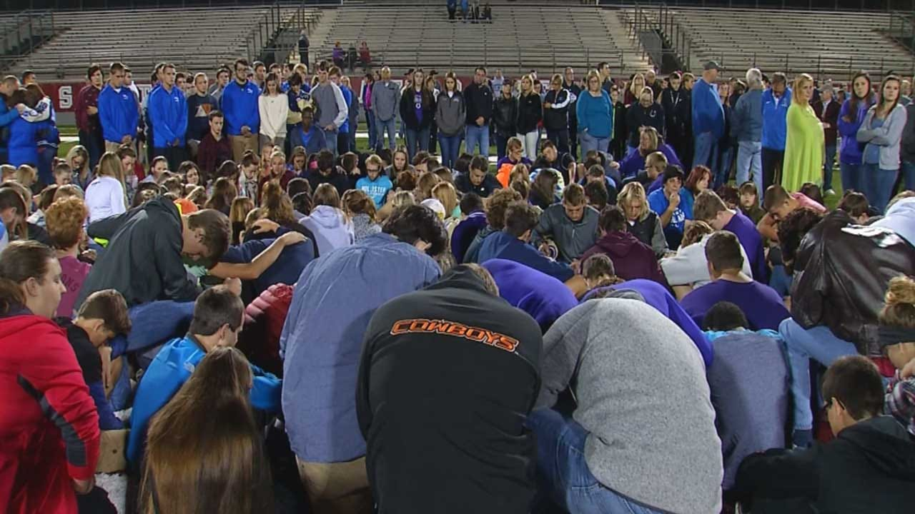 Vigil Held For Bethany Football Player