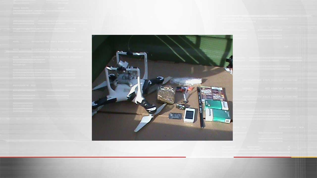 Drone Crashes During Attempt To Drop Off Contraband In State Penitentiary