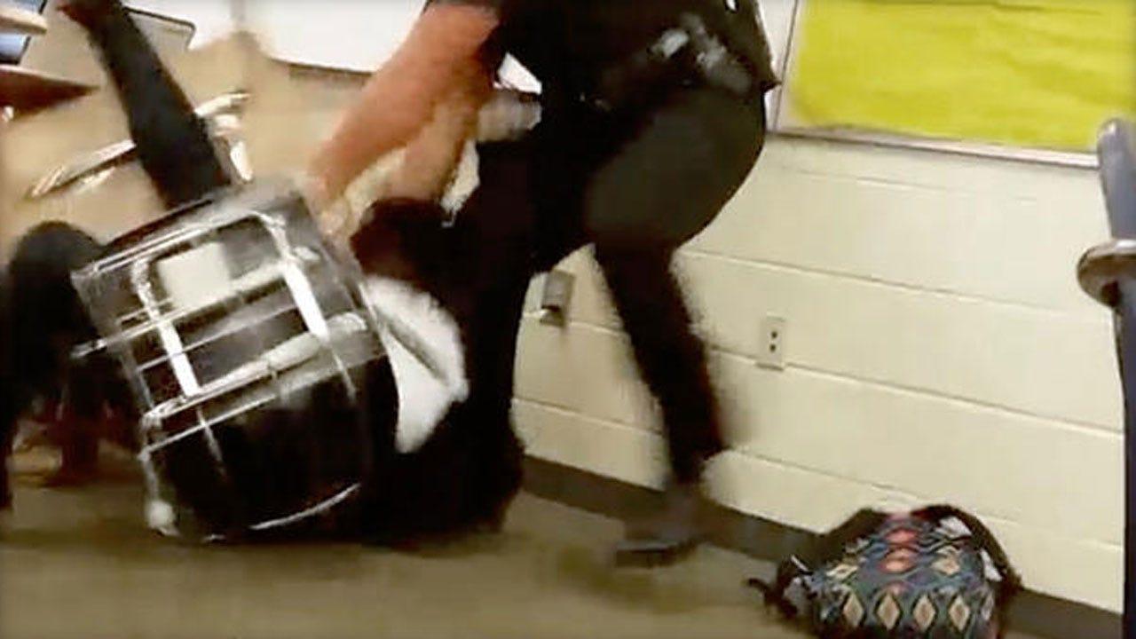 Officer Fired Over Violent S.C. Classroom Arrest