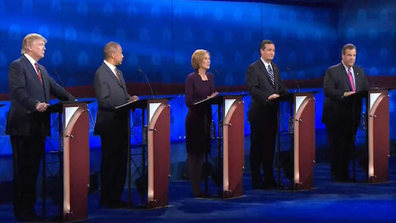Top-Tier GOP Candidates Face Off On Jobs, Economy In Third Primary Debate