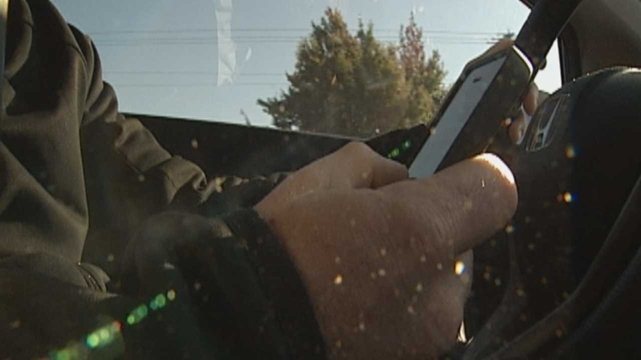 AAA: New Law May Not Change Drivers' Habit Of Texting-And-Driving