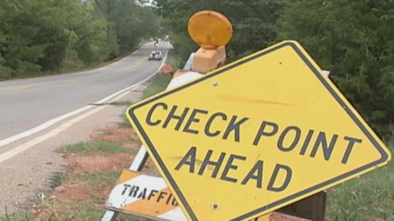DUI Patrols, Checkpoint Planned In Oklahoma County