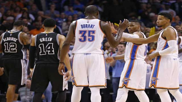 Thunder & Spurs A Long Way From Finished Products