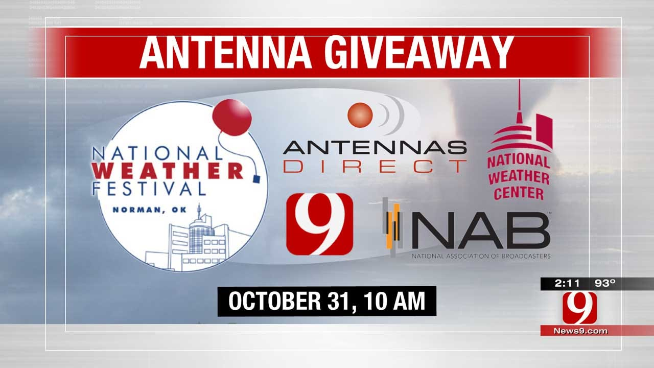 Antenna Giveaway At The National Weather Festival Saturday