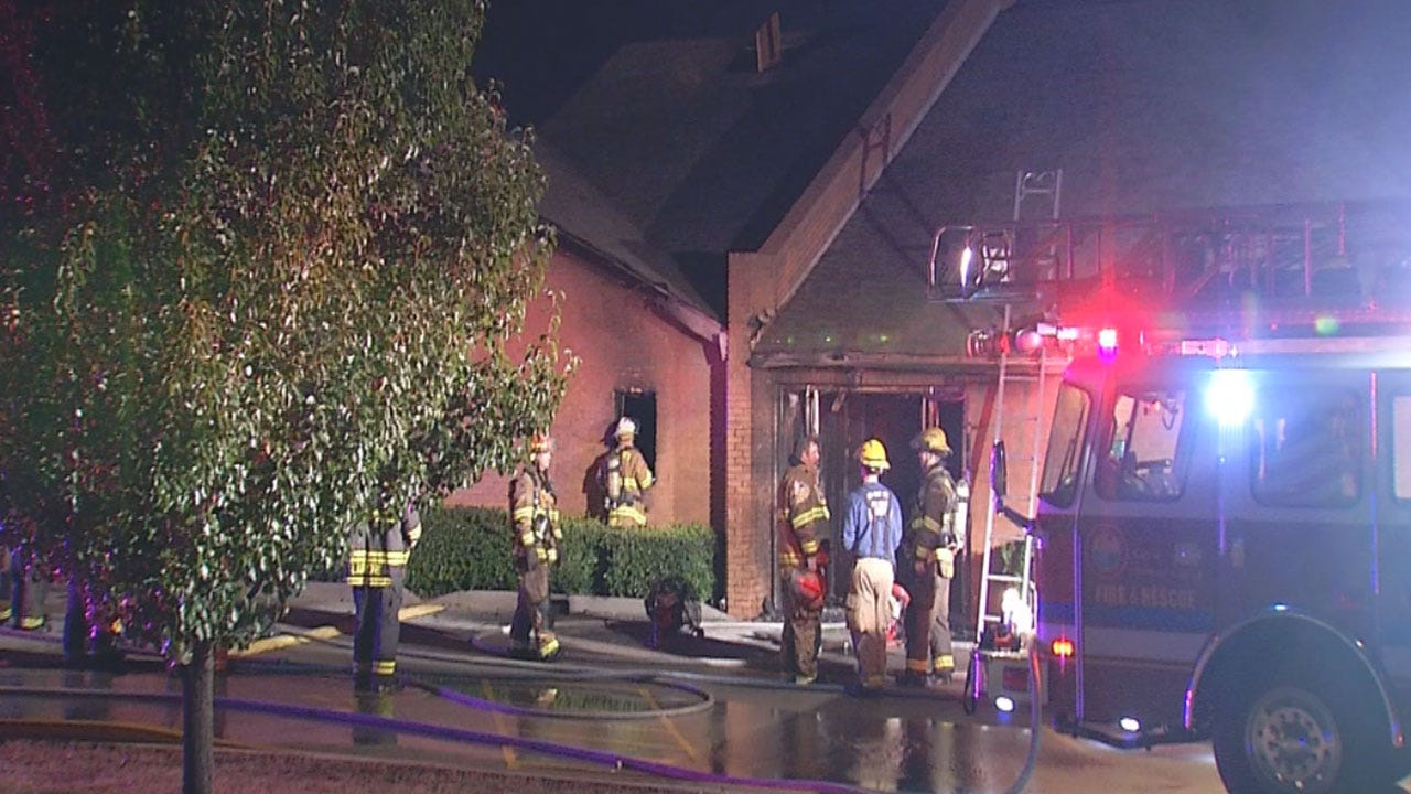 Midwest City Church Damaged In Early Morning Fire