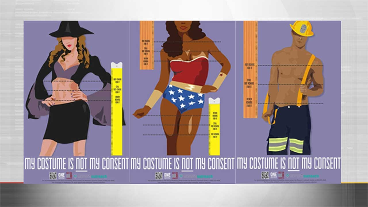 'My Costume Is Not Consent': OK Group Campaigns Against Sexual Assault On Halloween