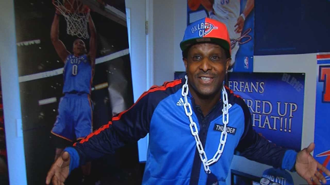 Red Dirt Diaries: Thunder Super Fan Preps For NBA Season