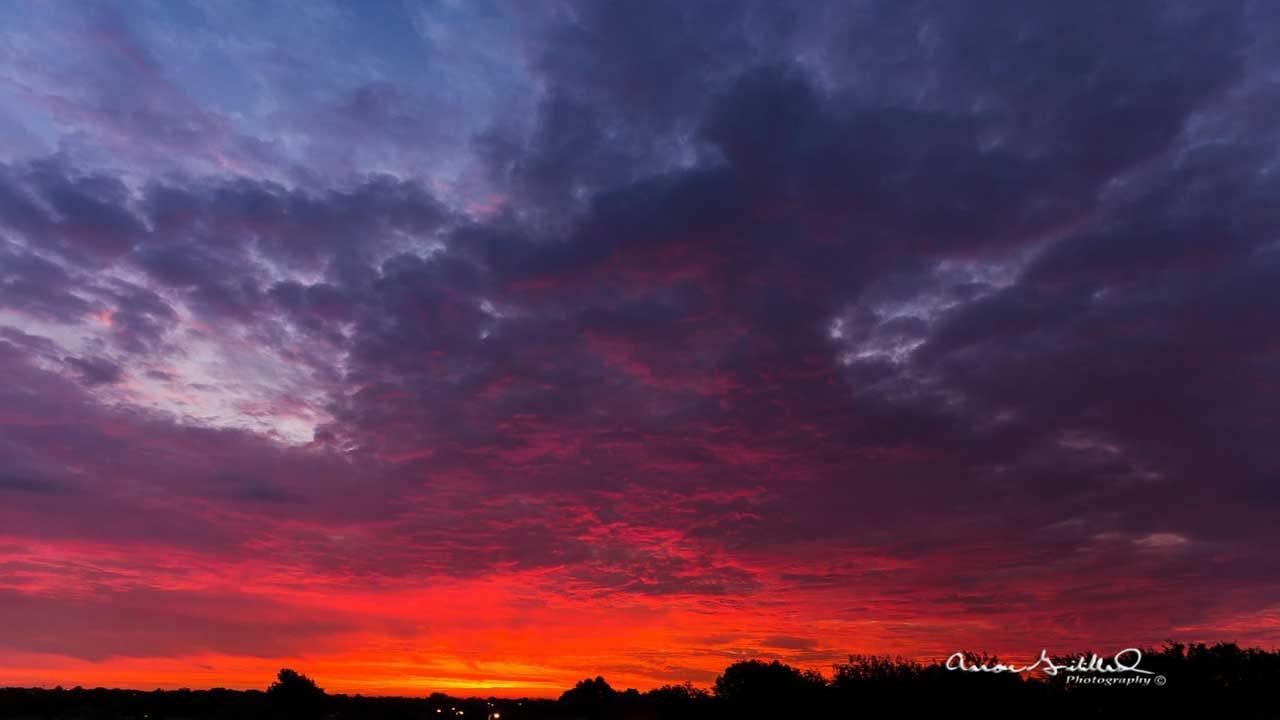 Oklahomans Share Photos Of Beautiful Sunrise