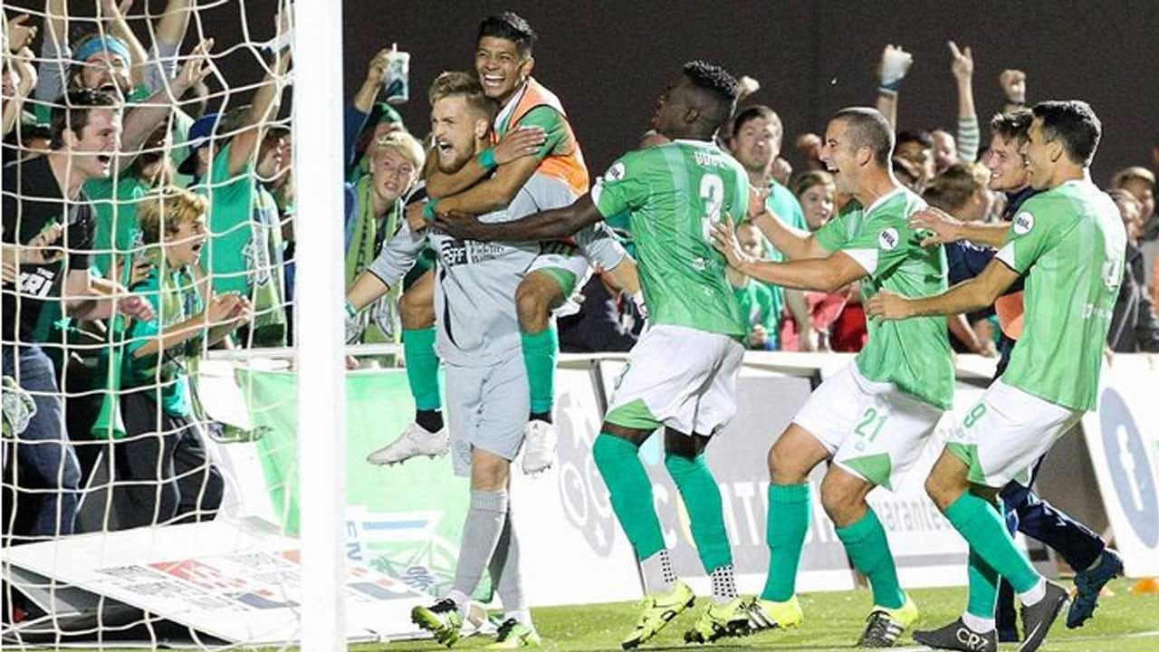 Super Stopper: Newton Saves PKs And Energy FC Advances In USL Playoffs