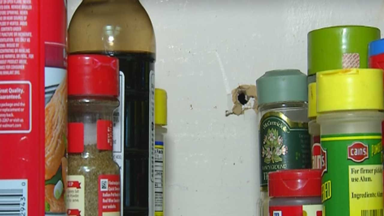 Stray Bullet Goes Through Carnegie Couple's Home