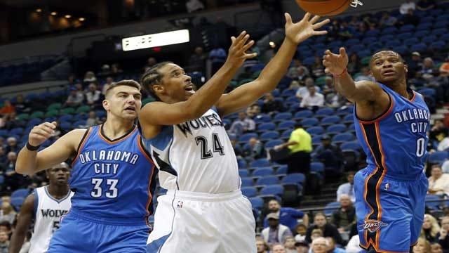 Durant Returns As Thunder Crush Wolves In Preseason Opener