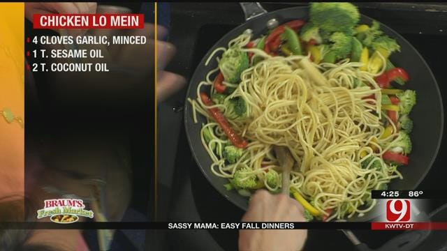 Chicken Lo-Mein
