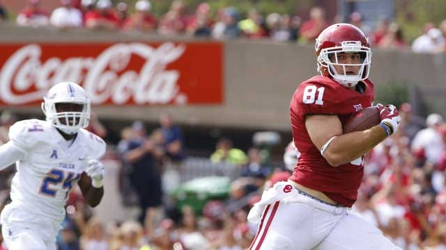 Dean Talks With OU Tight End Mark Andrews