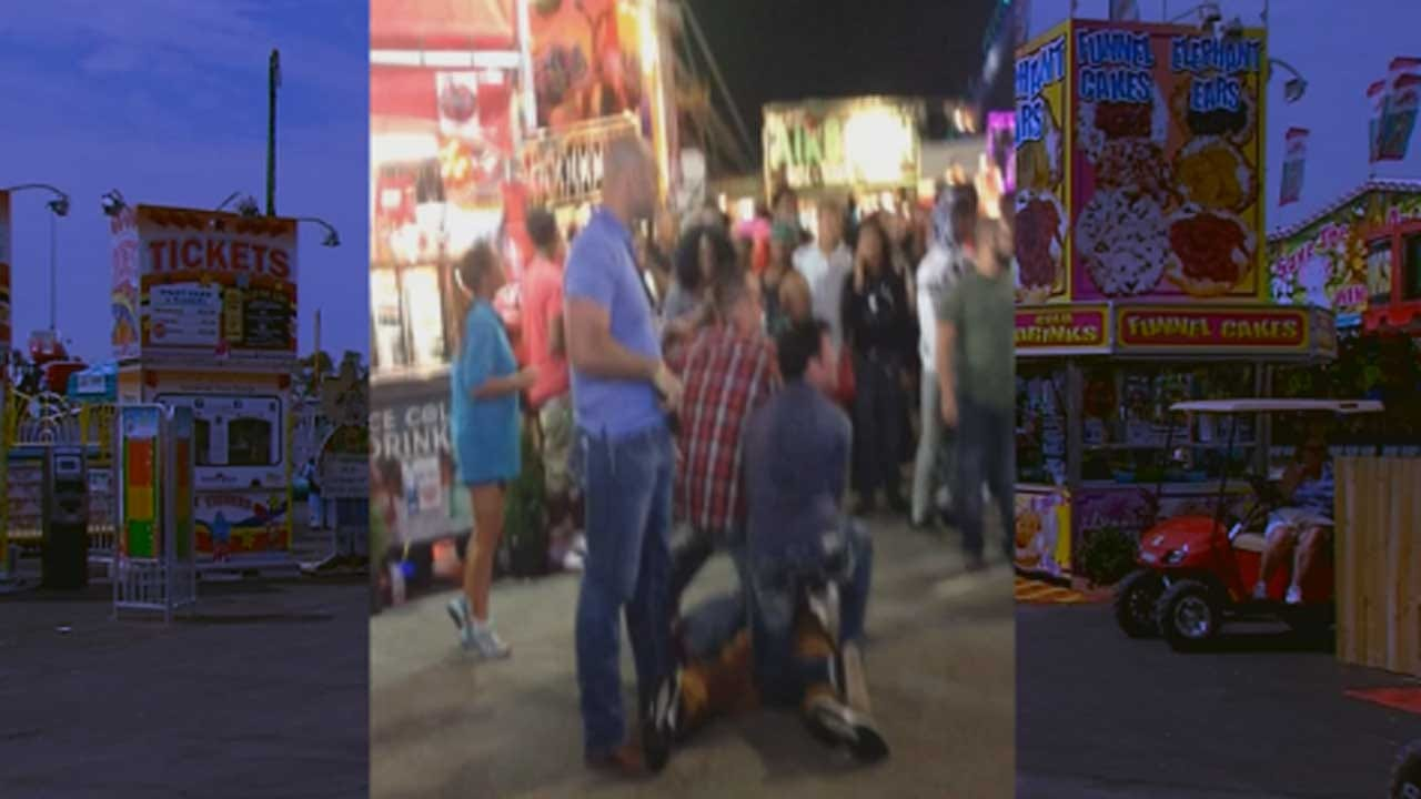 Off-Duty Del City Officers Take Down Man With Gun At State Fair