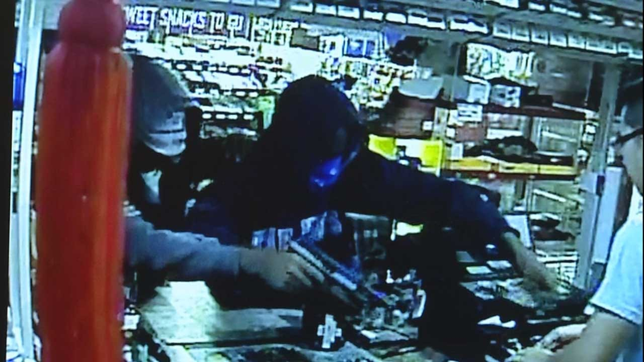 Caught On Camera: Armed Robbers Hold Up Convenience Store